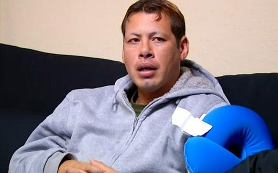 David Amaya is hoping to meet his mother for the first time in 30 years Photo: NBC LOS ANGELES