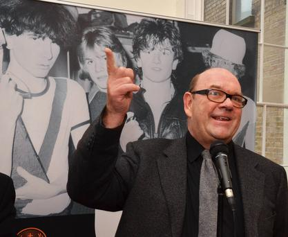 U2 manager Paul McGuinness who has announced he is retiring from the role