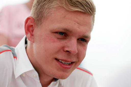 Sergio Perez has been replaced by rookie Kevin Magnussen