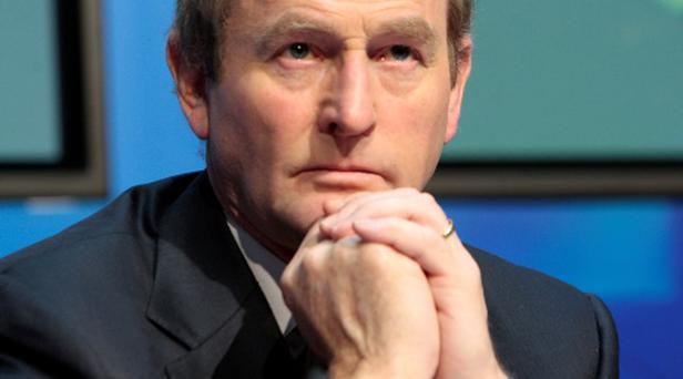 Taoiseach Enda Kenny has announced the country will make a clean exit from the bailout
