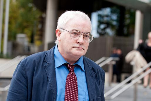 Patrick Corcoran (53) leaving Dublin Circuit Criminal Court Photo: Collins Courts.
