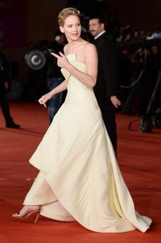 Jennifer Lawrence attends 'The Hunger Games: Catching Fire' Premiere in Rome