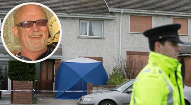 Michael Gannon, 55, (insert) who died after being stabbed at his daughter's house at Mourne Park in Skerries
