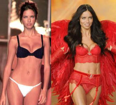 Adriana Lima has celebrated her 13th year of modelling