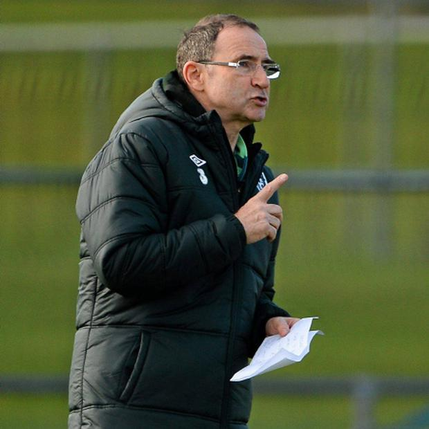 Republic of Ireland manager Martin O'Neill. Picture credit: David Maher / SPORTSFILE