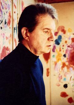 Irish-born artist Francis Bacon is seen in this undated handout picture from the Hugh Lane Gallery, Dublin