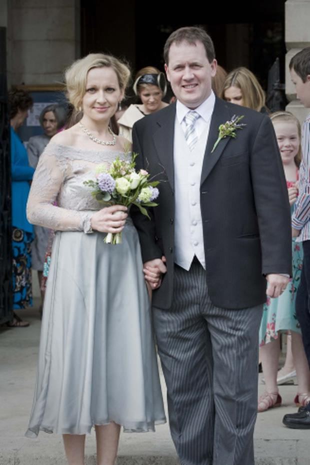Friday 29 April 2011. Trinity Chapel, Trinity College. The wedding of Lucinda Creighton TD and Senator Paul Bradford.