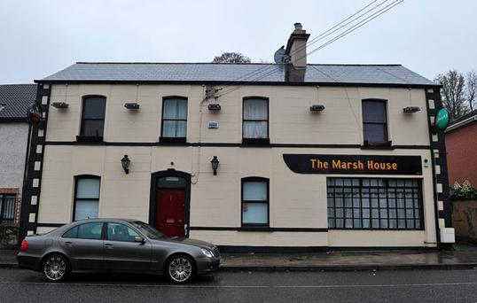The Marsh House pub in Drogheda
