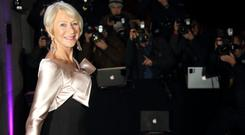 Helen Mirren attends the Evening Standard Theatre Awards
