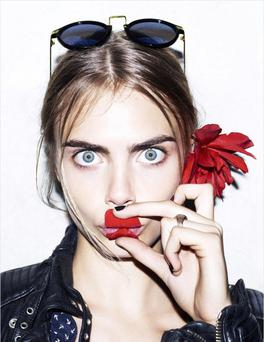 Cara Delevingne is the most popular supermodel in the world right now