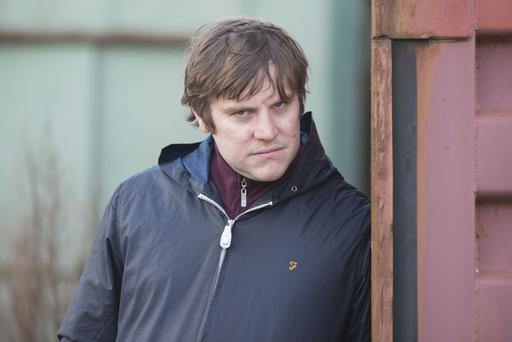 Peter Coonan as Fran in hit TV series Love/Hate