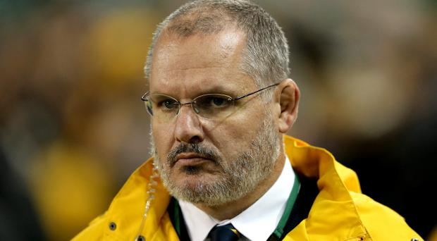 Wallabies head coach Ewen McKenzie
