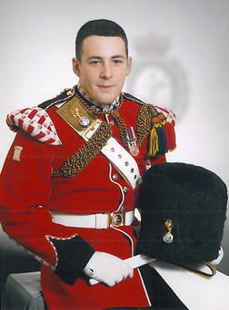 Undated Ministry of Defence handout photo of Fusilier Lee Rigby, as the two men accused of murdering the soldier are due to appear in court today as they prepare to stand trial at the Old Bailey