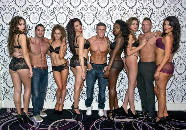 Tallafornia Tours launch party (with Cormac Branagan, Marc O'Neill, Phil Penny & Nikita Murray) took place in The Hampton Hotel where guests were treated to a sizzling lingerie show by DK fashion and Change Lingerie, Dublin, Ireland - 16.11.13. Pictures: Jerry McCarthy / VIPIRELAND.COM