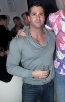 Tallafornia Tours launch party - Cormac Branagan, Jeremy McConnell Cooke
