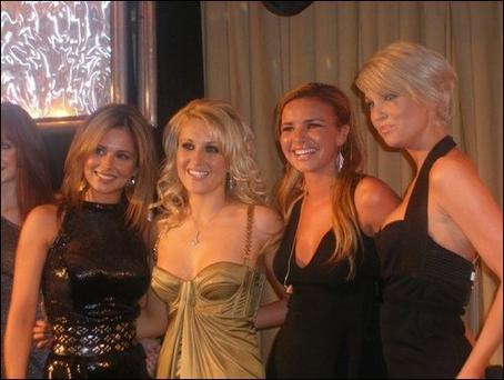 Sinead Kelly and Girls Aloud