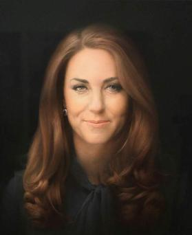 New mum Kate Middleton's portrait was criticised for making her look older than her 30 years.