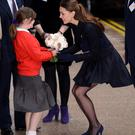 Catherine, Duchess of Cambridge attends the Place2Be forum at Canary Wharf