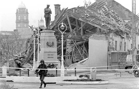 Enniskillen bombing in 1987