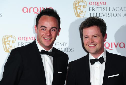 Anthony McPartlin and Declan Donnelly lead the nominations in the National TV Awards