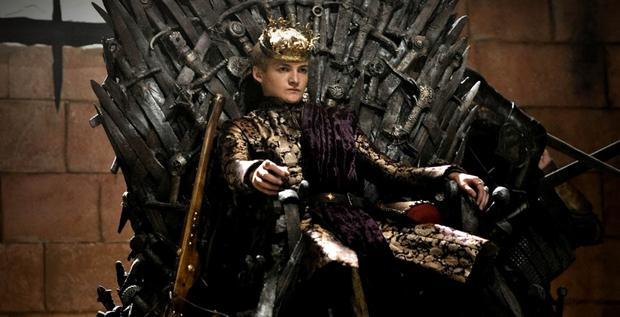 Irish actor Jack Gleeson as King Joffrey in The Game of Thrones