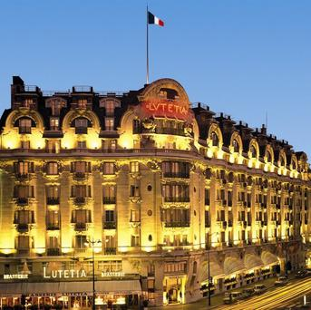 Hotel Lutetia in Paris where the couple where found