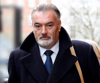 Ian Bailey at the High Court in Dublin earlier this year