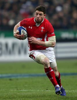 Wales' Alex Cuthbert