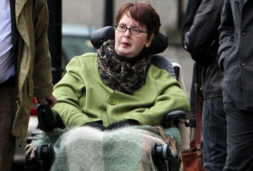 Marie Fleming: received letter demanding proof of condition