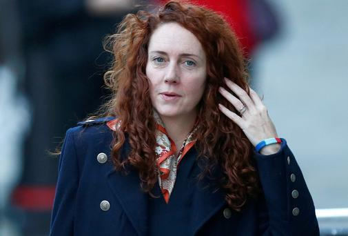 Rebekah Brooks at the Old Bailey in London