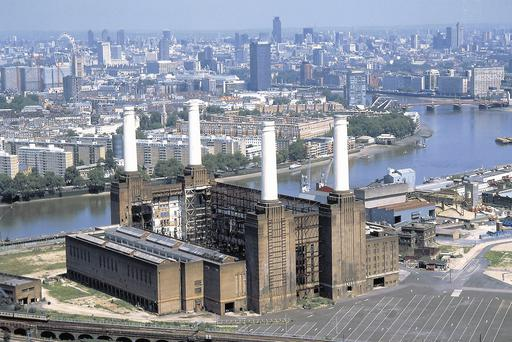 Battersea power station where apartments will cost €2,500 per square foot