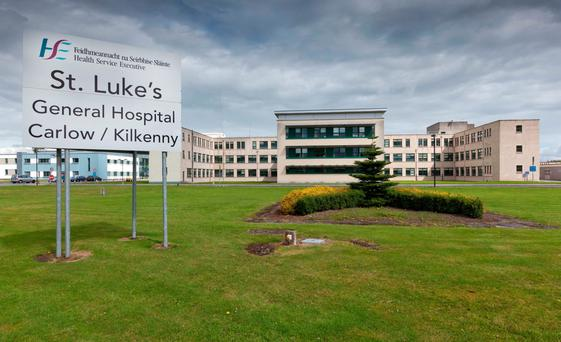 The young boy was pronounced dead at St Luke's hospital Kilkenny this evening.