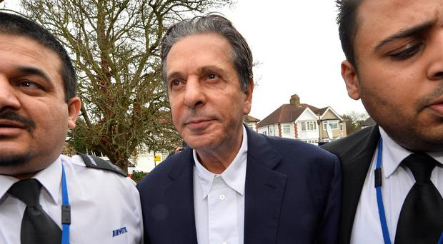 Charles Saatchi arrives at Isleworth Crown Court in west London November today