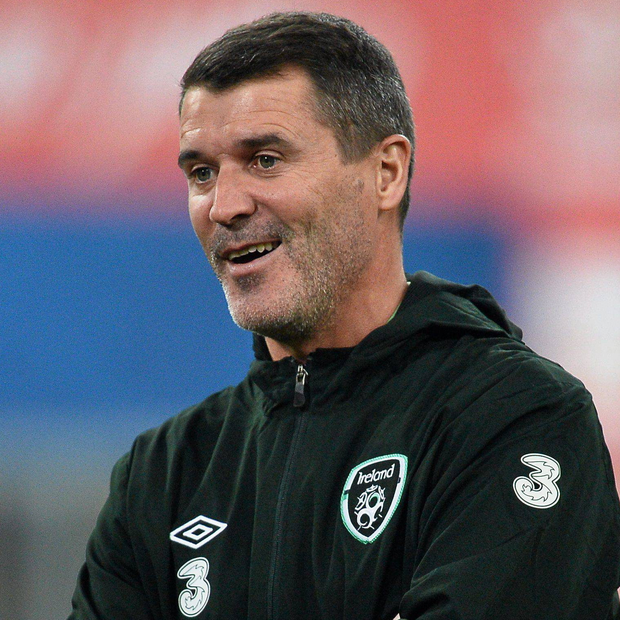 Republic of Ireland assistant manager Roy Keane. Picture credit: David Maher / SPORTSFILE