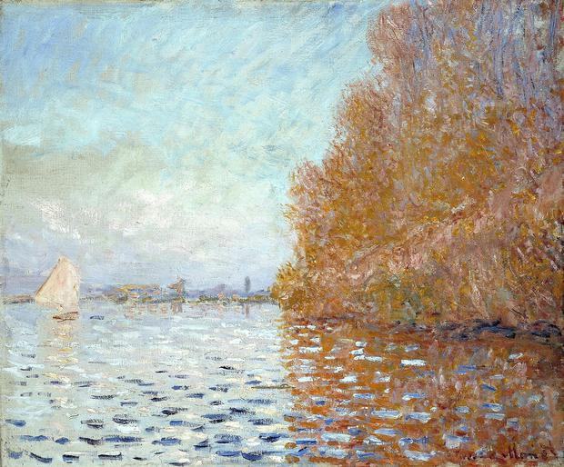 The Monet that was damaged in the National Gallery
