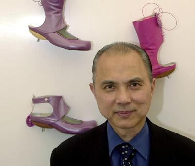 Shoe designer Jimmy Choo. A massive haul of fake Jimmy Choo shoes was found in Cork