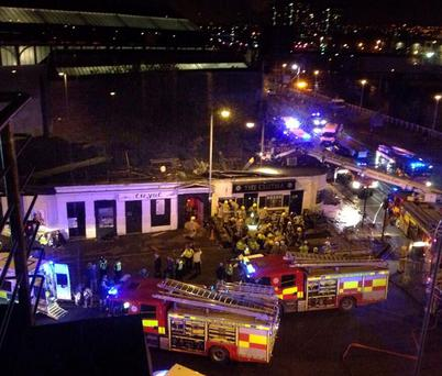 The helicopter crash at the Clutha Bar in Glasgow
