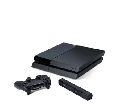 The Sony PlayStation 4 with PlayStation camera