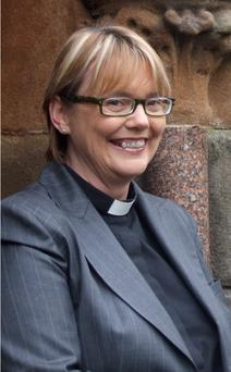 Rev Pat Storey, the first woman bishop in the UK and Ireland