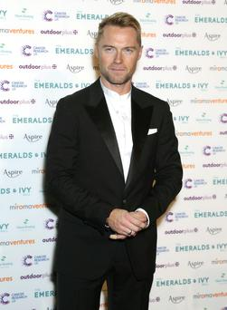 Ronan Keating attending the Emeralds and Ivy Ball