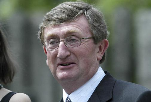 BOOM TO BUST: Bernard McNamara owed his creditors some €2.7bn at the height of his indebtedness