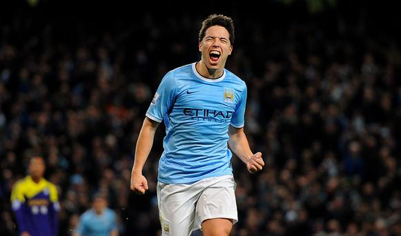 Samir Nasri admits wounded pride was the chief motivation against Manchester City.