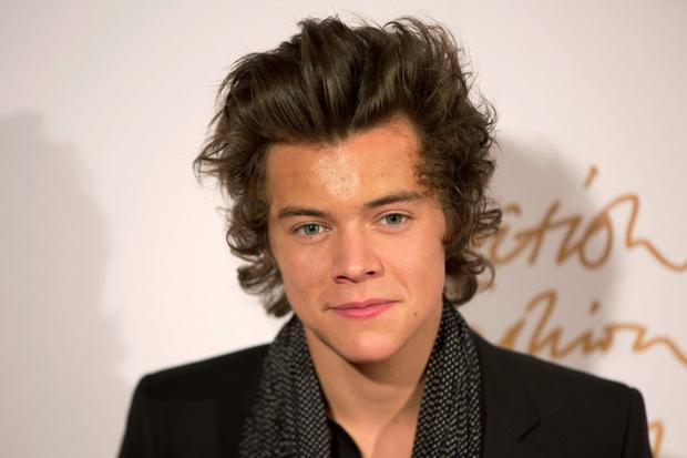 Harry Styles tops the style list at the British Fashion Awards in Londo3. REUTERS/Neil Hall