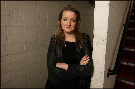 Actress Rachel Gleeson pictured at The Gate Theatre ahead of her production of Pride of Predjudice