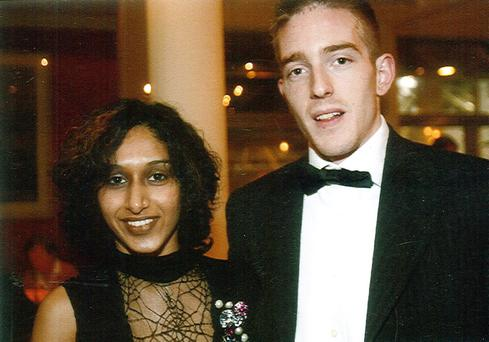 Dhara and Michael Kivlehan. Mrs Kivlehan's family has been awarded almost €1m in damages from health chiefs. Dhara, 28, died from multi-organ failure in Belfast's Royal Victoria Hospital in September 2010