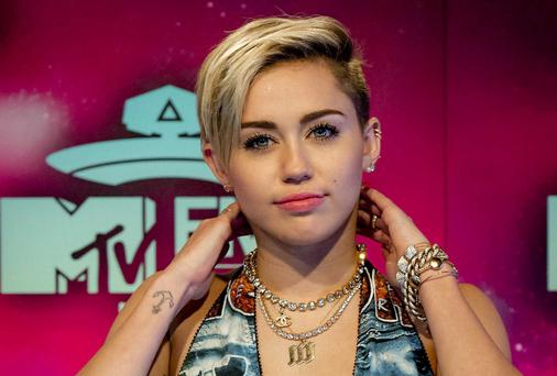 Time? Miley Cyrus is in the running for the prestigious accolade