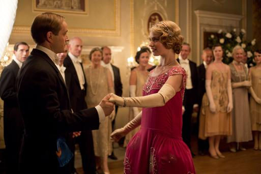 King George V and the royal family feature as characters in the Christmas special, as Cora presents Lady Rose to royalty.