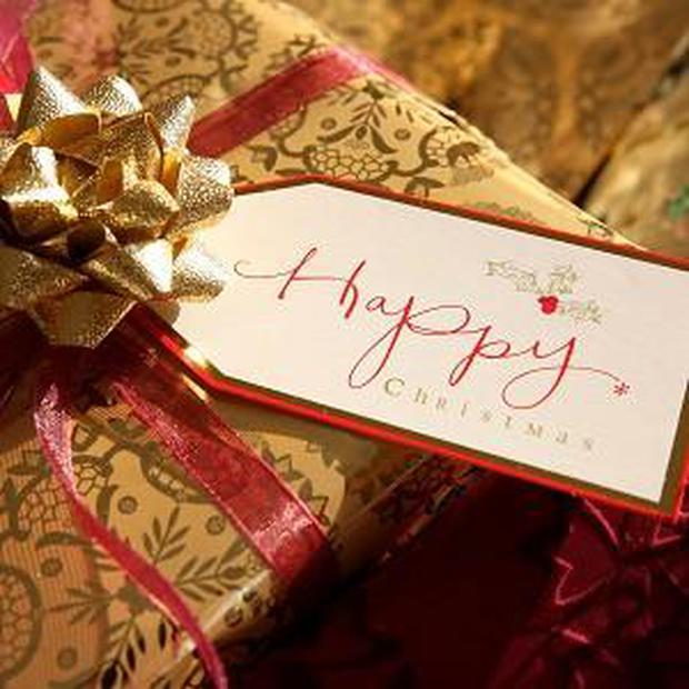 Gift vouchers are a popular choice at Christmas
