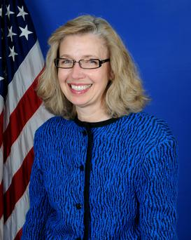 Christine Fox has been appointed to the Pentagon's No 2 job.