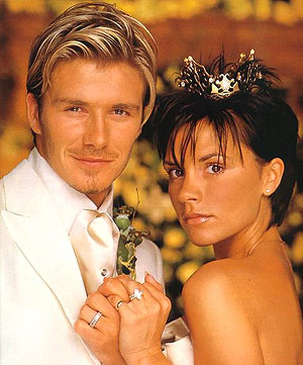 Plastic Wedding Bands >> #TBT: David and Victoria Beckham's most talked about moments of the noughties - Independent.ie